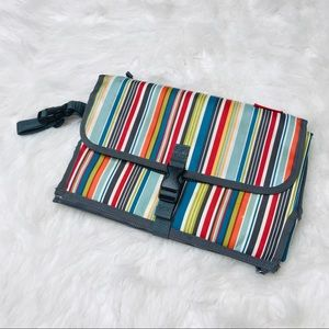 Skip Hop Stripe Print Changing Station & Clutch